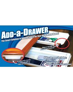 Smart Solutions Add A Drawer 2X8X17 White - Smart Solutions Add-A-Drawer