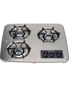 Suburban Mfg 3 Burner Drop-In Cooktop S.S. - Drop-In Cooktop