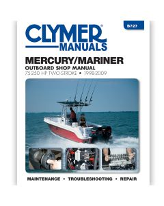 Clymer Mercury/Mariner 75 - 250 HP Outboards, 1998-2009