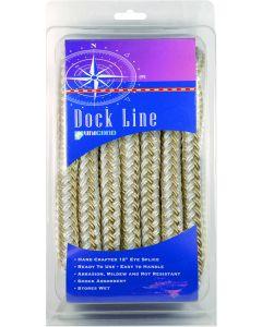 "Unicord Dock Line, 3/8"" x 15', Navy Blue"