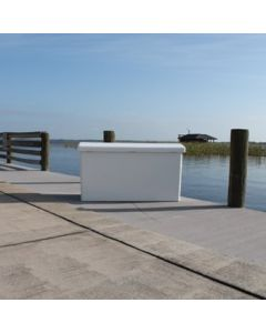 Rough Water Products Large Fiberglass Dock Box