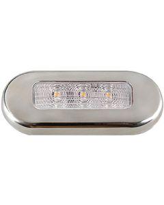"Aqua Signal ""Cordoba"" LED Courtesy Light, White"