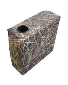 Wise Scout Series Right Arm Rest Camo Pontoon, Shadow Grass Vinyl
