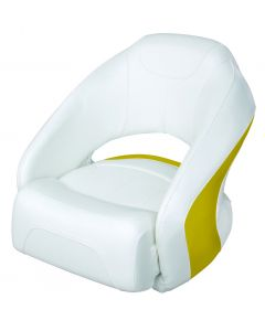 Wise Bolster Bucket Seat, Cuddy Brite White-Zander Yellow 8WD1217-1741