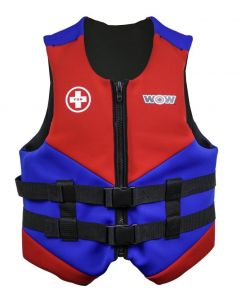 SurfStow WOW Neo Vest - Blue; Youth
