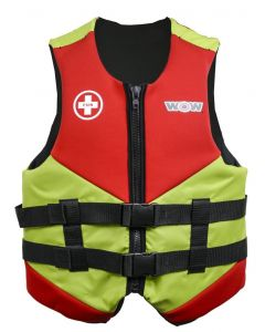 SurfStow WOW Neo Vest - Green; Youth
