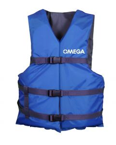 SurfStow All-Purpose Vest Blue; Universal Adult 4 pack in Blue bag
