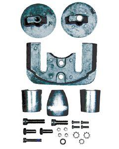 Sierra Mercury/Mercruiser Anode Kit, Aluminum, Bravo III 2004 - Present