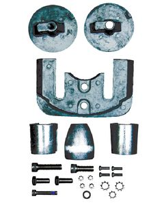 Sierra Mercury/Mercruiser Anode Kit, Magnesium, Bravo III 2004 - Present
