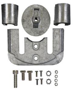 Sierra Mercury/Mercruiser Anode Kit, Aluminum, Bravo 2 & 3