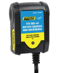 Seachoice Battery Charger And Maintainer 12V 0.5 AMP