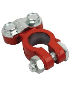 Seachoice Clamp style coated battery terminal red