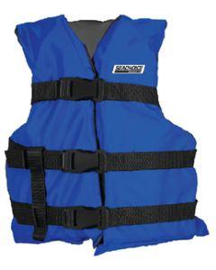 Seachoice Blue/Blk Youth Vest