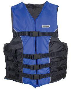 Seachoice 4-Belt Ski Vest Blue Xxl/Xxxl