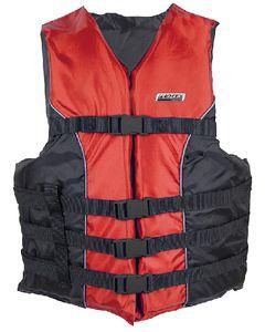 Seachoice 4-Belt Ski Vest Red S/M