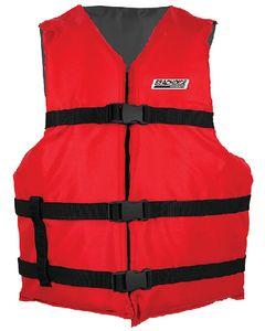 Seachoice Blk/Red Adult Vest