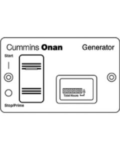 Remote Control Switch & Meter - Control Panel For Gasoline And Lp Vapor Generators