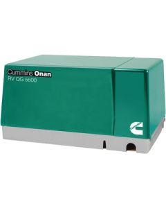 Cummins Onan Rvqg Formally Marquis Gas - Rv Generator Quiet Gasoline&Trade; Series - Rv Qg 5500