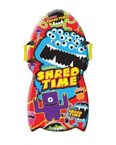"Yukon Charlie's Shred Time 39"" Foam Snow Sled, 1 Rider - Airehead"
