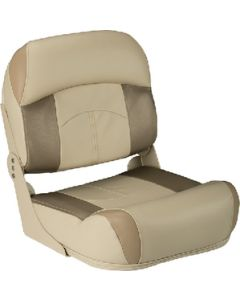 Lippert Low Back Fold Down Fishing Seat, Tan