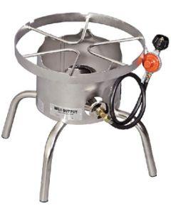 Stnls. Steel Explorer 1 Burner - Stainless Steel High Output Single Burner Cooker