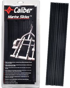 "Caliber Marine Slides, Black, 1.5"" x 15"" (10-Pack)"