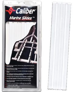 "Caliber Marine Slides, White, 1.5"" x 15"" (10-Pack)"