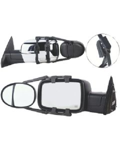Mirror-Dual Lens Rachet 2Pk - Dual Lens Towing Mirror