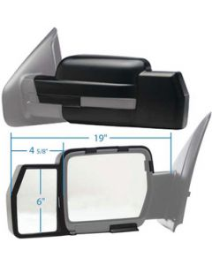 K-Source Snap On Mirror Fordf-15009-10 - 81810 Snap-On Towing Mirrors