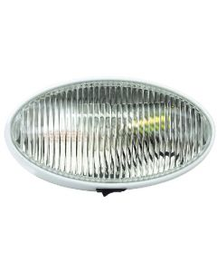 Prch Lght Ovl W/Swtch Clear - Oval Porch/Utility Light