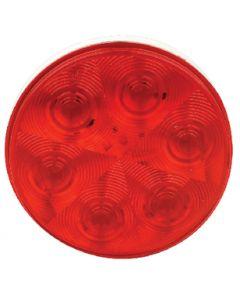"""7 Led Tail Lght Round - Led 4"""" Round Sealed Light"""