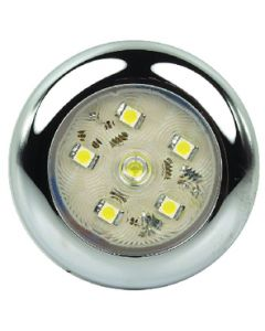 Led Rnd Utlty 6 Diode Clear - Led Sealed Utility Light