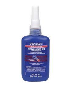 Permatex High Strength Threadlocker, Red, 10 ml
