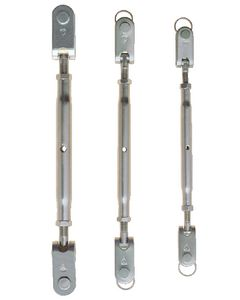 C. Sherman Johnson Turnbuckle W 3/16 Pin-1/8 Wir