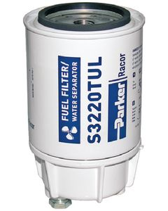 Racor Gas Spin-On Filter With Metal Bowl, Inboard