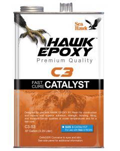 Seahawk Fast Cure Catalyst Size 3, .87 GL - Hawk Epoxy
