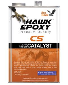 Seahawk Clear Finish Catalyst Size 2, .33 GL - Hawk Epoxy
