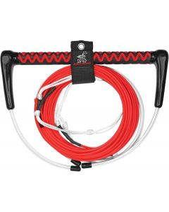Airhead Dyneema Fusion Wakeboard Rope, Electric Red