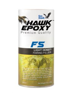 Seahawk Light Density Fairing Filler, F5, 4 oz - Hawk Epoxy