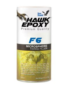 Seahawk MicroSphere Fairing Filler, F6, 5.2 oz - Hawk Epoxy