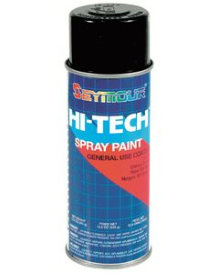 Seymour of Sycamore 16 Oz. Gloss Black - Hi-Tech&Copy; General Purpose Spray Paint