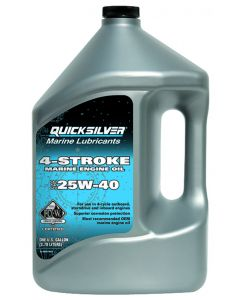 Quicksilver Direct Injection Engine Oil,  2.5 Gallon
