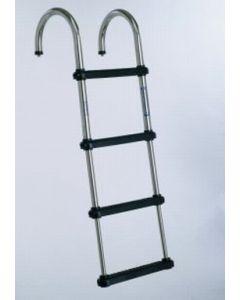 "Windline Marine Windline 4-Step Telescoping Removable Pontoon Boat Ladder 46.5"""