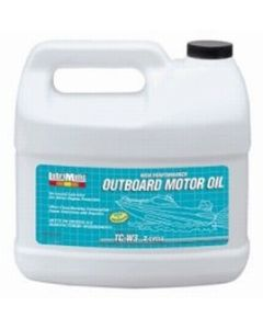 LubriMatic TC-W3 50:1 Outboard Motor Oil, 1 Gallon