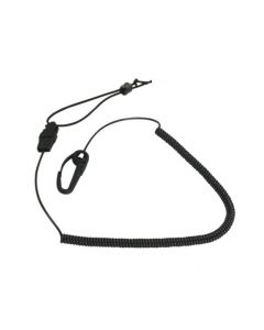 Seattle Sports Deluxe  Black Paddle Leash