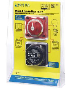 Blue Sea Systems Mini Battery Switch & Auto Charging Relay 65 Amp