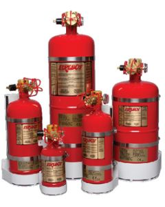 Fireboy Fire Extinguisher 125 Cu Ft