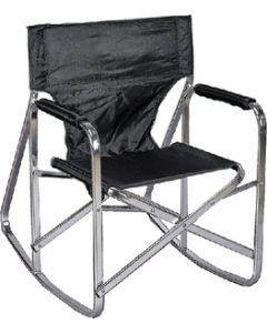Ming's Mark Camping Chair Rocker Black - Rocking Director'S Chair