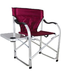 Ming's Mark H.D. Director'S Chair Burgundy - Heavy Duty Director'S Chair