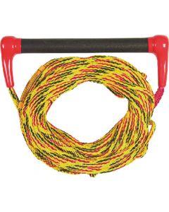 Jobe 211217004 Red Ski Combo 60' Rubber Grip Transfer Rope